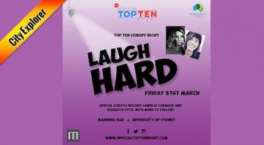 Laugh Hard: Top Ten Comedy Night
