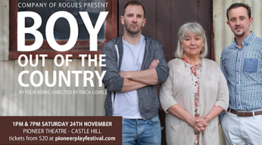 Boy Out Of The Country - Sydney Premiere