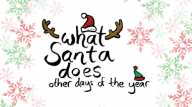 What Santa does other days of the Year